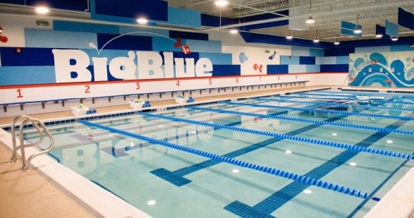 Big Blue Swim School Pool