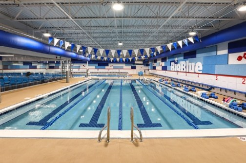 Big Blue Swim School Capacity Lanes