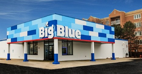 Big Blue Swim School Building