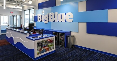 Big Blue Swim School Lobby