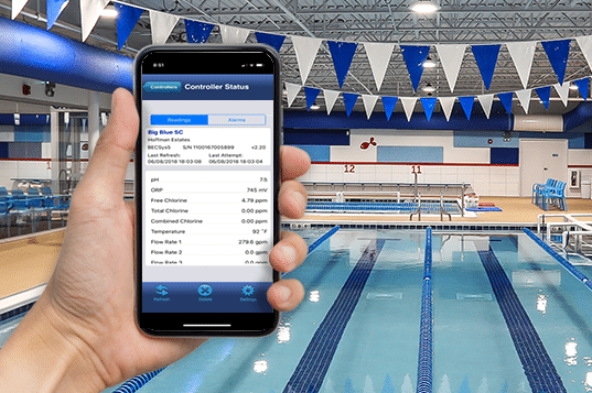 Big Blue Swim School Facility Management Mobile App