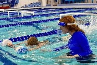 Big Blue Swim School Lanes During Covid